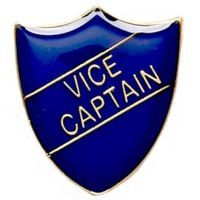 ShieldBadge Vice Captain Blue</br>SB014B